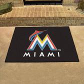 """Miami Marlins All-Star Mat 33.75""""x42.5"""""""