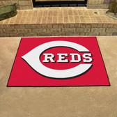 """Cincinnati Reds All-Star Mat 33.75""""x42.5"""""""