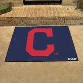 """Cleveland Indians """"Block-C"""" All-Star Mat 33.75""""x42.5"""""""