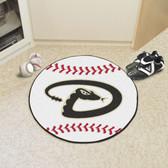 """Arizona Diamondbacks Baseball Mat 27"""" diameter"""