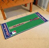 """Atlanta Braves Baseball Runner 30""""x72"""""""