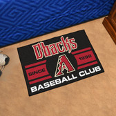"Arizona Diamondbacks Baseball Club Starter Rug 19""x30"""