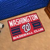 "Washington Nationals Baseball Club Starter Rug 19""x30"""