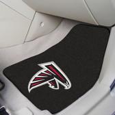 """Atlanta Falcons 2-piece Carpeted Car Mats 17""""x27"""""""