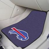 """Buffalo Bills 2-piece Carpeted Car Mats 17""""x27"""""""
