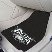 "Philadelphia Eagles 2-piece Carpeted Car Mats 17""x27"""