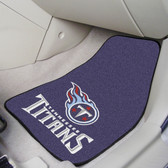"Tennessee Titans 2-piece Carpeted Car Mats 17""x27"""