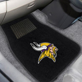 "Minnesota Vikings 2-piece Embroidered Car Mats 18""x27"""