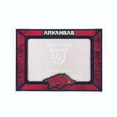 Arkansas Razorbacks  2015 Art Glass Frame