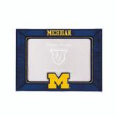Michigan Wolverines  2015 Art Glass Frame
