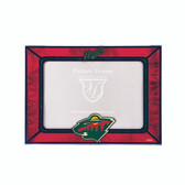 Minnesota Wild 2015 Horizontal Art Glass Frame