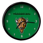 Marshall Thundering Herd Black Rim Clock - Basic