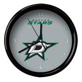 Dallas Stars Black Rim Clock - Basic