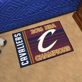 "Cleveland Cavaliers 2016 NBA Finals Champions Starter Rug 19""x30"""