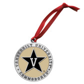 Vanderbilt Commodores Ornament