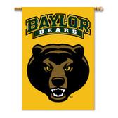 """Baylor Bears 2-Sided 28"""" X 40"""" Banner W/ Pole Sleeve"""