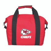Kansas City Chiefs 12 Pack Soft-Sided Cooler
