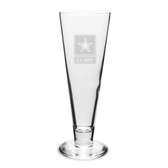 US Army Deep Etched 16oz Pilsner