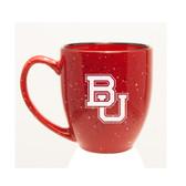 Baylor Bears 15 oz. Deep Etched Red Bistro Mug
