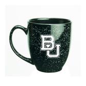 Baylor Bears 15 oz. Deep Etched Black Bistro Mug