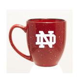 Notre Dame Fighting Irish 15 oz. Deep Etched Red Bistro Mug