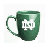 Notre Dame Fighting Irish 15 oz. Deep Etched Green Bistro Mug