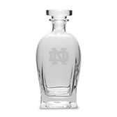 Notre Dame Fighting Irish 23.75 oz. Deep Etched Rossini Decanter