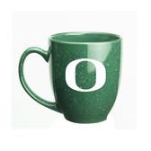 Oregon Ducks 15 oz. Deep Etched Green Bistro Mug