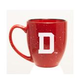 Dartmouth College 15 oz. Deep Etched Red Bistro Mug
