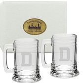 Dartmouth College Deep Etched Colonial Tankard Set of 2