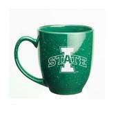 Iowa State Cyclones 15 oz. Deep Etched Green Bistro Mug