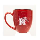 Memphis Tigers 15 oz. Deep Etched Red Bistro Mug