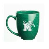 Memphis Tigers 15 oz. Deep Etched Green Bistro Mug