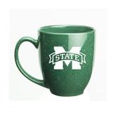 Mississippi State Bulldogs 15 oz. Deep Etched Green Bistro Mug
