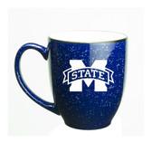 Mississippi State Bulldogs 15 oz. Deep Etched Cobalt Bistro Mug