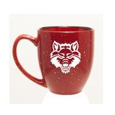 Arkansas State Red Wolves 15 oz. Deep Etched Red Bistro Mug