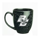 Boston College 15 oz. Deep Etched Black Bistro Mug