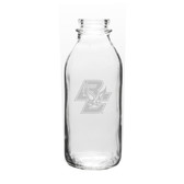 Boston College 33.5 oz. Deep Etched Milk Bottle