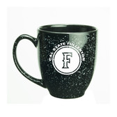 Cal State Fullerton 15 oz. Deep Etched Black Bistro Mug