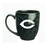 Chicago Maroons 15 oz. Deep Etched Black Bistro Mug