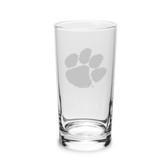 Clemson Tigers 10 oz. Deep Etched Highball Glass
