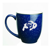 Colorado Buffaloes 15 oz. Deep Etched Cobalt Bistro Mug