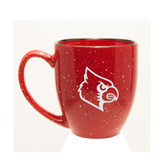 Louisville Cardinals 15 oz. Deep Etched Red Bistro Mug