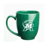 Maryland Terrapins 15 oz. Deep Etched Green Bistro Mug