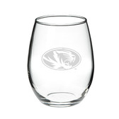 Missouri Tigers 1 Litre Deep Etched Wine Carafe