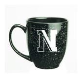 Northeastern Huskies 15 oz. Deep Etched Black Bistro Mug
