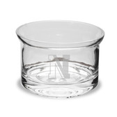 """Northeastern Huskies 5"""" Deep Etched Flair Crystal Candy Bowl"""