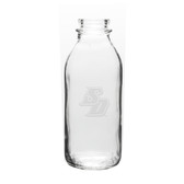 San Diego Tritons 33.5 oz. Deep Etched Milk Bottle