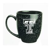 Texas Tech Red Raiders 15 oz Deep Etched Black Bistro Mug