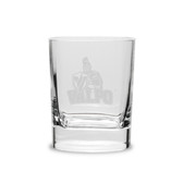 Valparaiso Crusaders 11.75 oz Deep Etched Double Old Fashion Glass